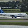 "Date:  10/01/16 - Location:  KMCO<br /> Dep/Arv/Enr:  Arv - RW/Taxi/Ramp:  Taxi Foxtrot<br /> Manufacturer:  Airbus <br /> Model:  A320-232 - RegNmb:  N655JB<br /> C/N:  3072<br /> Misc:  ""Blue 100"""