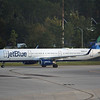 "Date:  10/02/16 - Location:   KMCO<br /> Dep/Arv/Enr:  Arv - RW/Taxi/Ramp:  Taxi Juliet<br /> Manufacturer:  Airbus<br /> Model:  A321-231 - RegNmb:  N907JB - C/N: 5865<br /> Misc:  ""Blue Really Got Me Goin"""