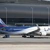 Date:  2/10/18 - Location:  KMIA<br /> Dep/Arv/Enr:  n/a - RW/Taxi/Ramp:  Gate J11<br /> Manufacturer:  Boeing<br /> Model:  B767-316 (ER) - C/N:  36711 - RegNmb:  CC-CXF<br /> Nose Art/Livery:  <br /> Misc: