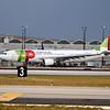 "Date: 2/9/17 - Location: KMIA<br /> Dep/Arv/Enr: Dep - RW/Taxi/Ramp: Taxi Papa<br /> Manufacturer: Airbus<br /> Model: A330-202 - RegNmb: CS-TON<br /> C/N:  904<br /> Misc:  ""João XXI"""
