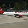 "Date:  10/1/16 - Location:  KMCO<br /> Dep/Arv/Enr:  Arv - RW/Taxi/Ramp:  Taxi Juliet<br /> Manufacturer:  Airbus<br /> Model:  A320-214 - Reg/Nmb:  N623VA<br /> C/N:  2740<br /> Misc:  ""three it by air"""
