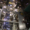 Ares 1X in VAB 08-25-2009