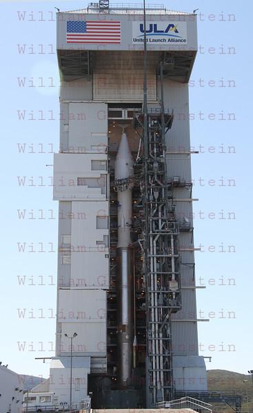 Atlas 5 NROL-36 On Pad at L-14 hours Aug. 1, 2012