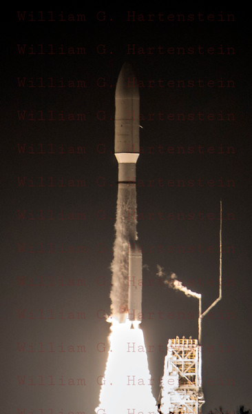 ULA Atlas 5 with NROL-42 launches at 10:49:47pm from Vandenberg AFB.