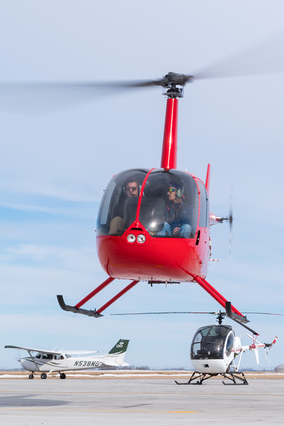UND's fleet consists of over 100 aircraft and simulators in Grand Forks, including 7 helicopters