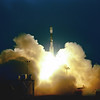 Beoing Delta II launches IceSat/ChipSat from Vandenberg AFB. CA. 01-12-2003