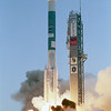 Boeing's Delta II liftsoff with NASA's Genesis Spacecraft on Aug. 8, 2001