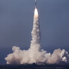 Boeing Delta launches LandSat 7 from Vandenberg AFB, CA. 04-15-1999