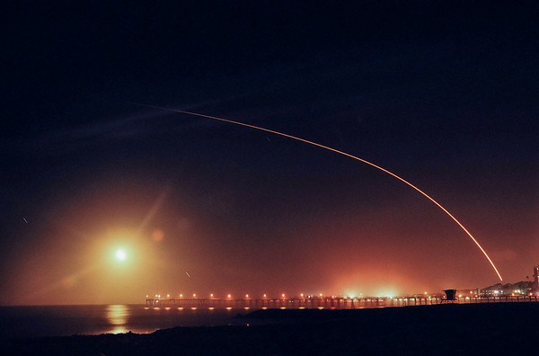 The NOAA-N spacecraft launched from Vandenberg AFB. 05-20-2005