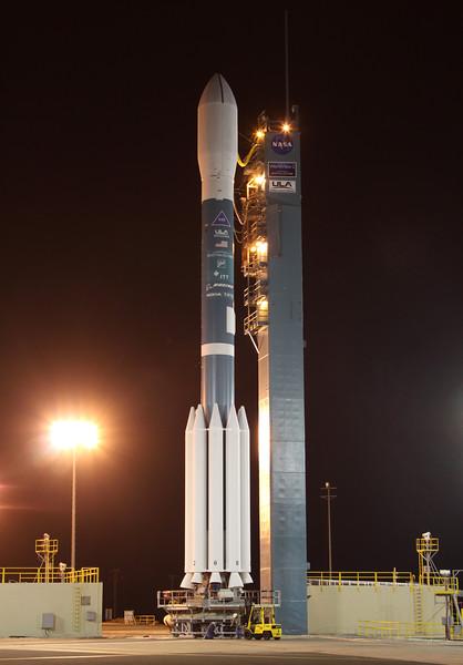 Delta II Worldview-2 Tower Rollback 10-8-2009