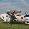 Date:  unknown - Location:  KNQA<br /> Manufacturer:  Grumman<br /> Aircraft:  E-2B<br /> Mil Reg:  151713  - Civ Reg: n/a<br /> Markings:   327/327 NJ<br /> Misc:  NATTC Memphis ground trainer