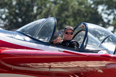 Jeff Boerboon and his Yak 110.
