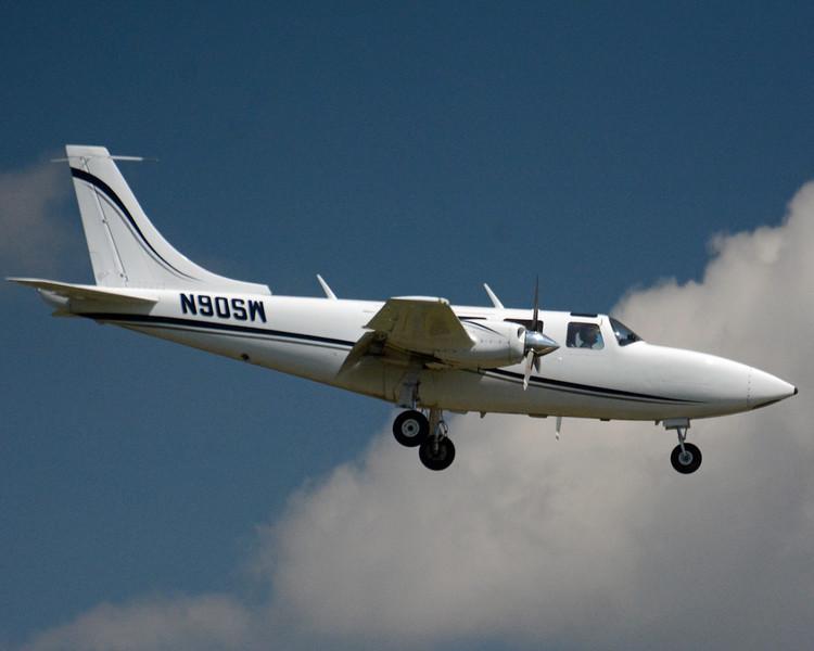 Date: 5/9/13 - Location: KORL<br /> Dep/Arv/Enr: Arv - RW/Taxi/Ramp: RW05<br /> Manufacturer: Piper<br /> Model: 601P - RegNmb: N90SW - Type engines:  Recip<br /> Owner:  Corp<br /> Misc: