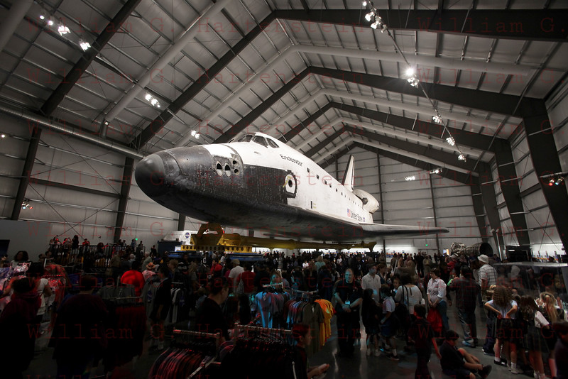 Endeavour's Grand Opening at California Science Center, Oct. 30, 2012