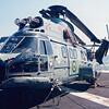 Date: unknown - Location: Pensacola, FL<br /> Dep/Arv/Enr: n/a - RW/Taxi/Ramp: n/a<br /> Manufacturer: Aerospatiale<br /> Model: UH14 - Ser/BuNo: N-7074<br /> Unit: HU-2<br /> Misc: A Brazilian Navy Super Puma on the deck of the Minas Gerais