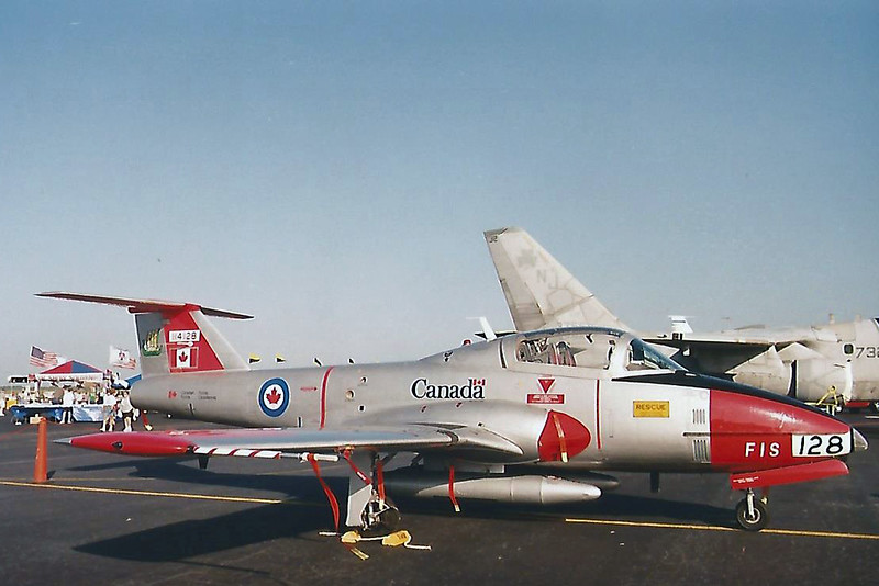 Date:  unknown - Location:  unknown<br /> Dep/Arv/Enr:  n/a - RW/Taxi/Ramp:  n/a<br /> Manufacturer:  Canadair<br /> Model:  CT-114 - Name:  Tutor<br /> C/N:  1128 - Mil RegNmb:  114128<br /> Unit:  Flying Instructions & Standards Section (FIS)<br /> Misc: