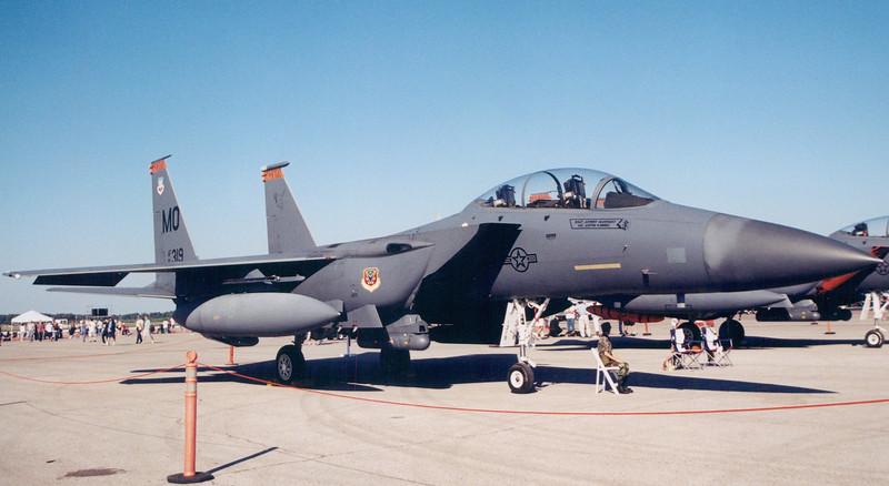Date:  2004 - Location:  KMCF<br /> Dep/Arv/Enr:  n/a - RW/Taxi/Ramp:  n/a<br /> Manufacturer:  McDonnell Douglas <br /> Model:  F-15E - Name:  Strike Eagle<br /> C/N:  1226 / E184 - SerNo:  91-0319 - BaseCode:  MO<br /> Unit:  391 FS/366 FW<br /> Misc: