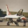 Date:  1984 - Location:  ETAR<br /> Dep/Arv/Enr:  n/a - RW/Taxi/Ramp:  n/a<br /> Manufacturer:  General Dynamics<br /> Model:  F-16A - Ser/BuNo:  81-0663<br /> Unit:  USAF Flight Demonstration Team, Thunderbirds <br /> Misc:
