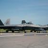 Date:  4/3/14 - Location:  KLAL<br /> Dep/Arv/Enr:  n/a - RW/Taxi/Ramp:  n/a<br /> Manufacturer:  Lockheed/Martin <br /> Model:  F-22A - Ser/BuNo:  05-4099<br />                             Ser/BuNo:  05-4107<br /> Unit:  95 FS<br /> Misc:  n/a