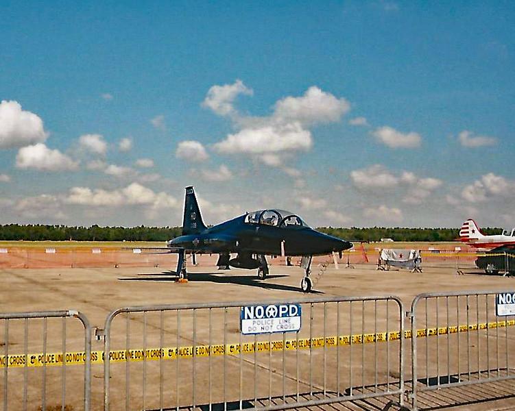 Date:  1998 - Location:  KNGB<br /> Dep/Arv/Enr:  n/a - RW/Taxi/Ramp:  n/a<br /> Manufacturer:  Northrop <br /> Model:  T-38A - SerBuNo:  68-8139 - C/N:  N6144<br /> Unit:  7 CTS/49 FW<br /> Misc: