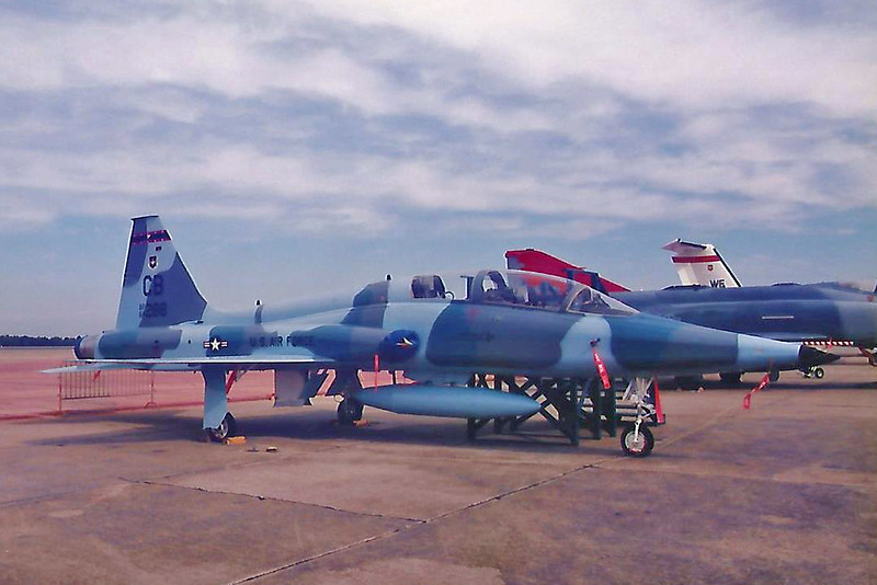 Date:  unknown - Location:  KVPS<br /> Dep/Arv/Enr:  n/a - RW/Taxi/Ramp:  n/a<br /> Manufacturer:  Northrop<br /> Model:  T-38A - Name:  Talon<br /> C/N:  N.5757 - SerNo:  64-13298 - Base Code:  CB<br /> Unit:  14 FTW<br /> Misc: