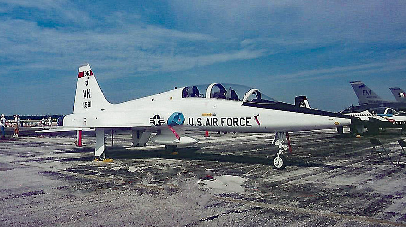 Date: unknown - Location: KMCF<br /> Dep/Arv/Enr: n/a - RW/Taxi/Ramp: n/a<br /> Manufacturer: Northrop<br /> Model: T-38A - Ser/BuNo: 70-1581<br /> Unit: 71 FTW<br /> Misc: