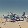 Date:  1987 - Location:  KREE<br /> Dep/Arv/Enr:  n/a - RW/Taxi/Ramp:  n/a<br /> Manufacturer:  Northrop<br /> Model:  T-38A  - Name:  Talon<br /> C/N:  N.5346 - SerNo:  62-3641 - Base Code:  HM<br /> Unit:  435 TFTS/479 TTW<br /> Misc: