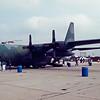 Date:  1991 - Location:  KWRI<br /> Dep/Arv/Enr:  n/a - RW/Taxi/Ramp:  n/a<br /> Manufacturer:  Lockheed <br /> Model:  C130E - Ser/BuNo:  64-0570<br /> Unit:  317 TAW<br /> Misc: