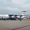 """Date:  1991 - Location:  KWRI<br /> Dep/Arv/Enr:  n/a - RW/Taxi/Ramp:  n/a<br /> Manufacturer:  Lockheed <br /> Model:  C-141A - Ser/BuNo: 61-2775<br /> Unit:  4953 TS/4950 TW<br /> Misc:  """"First of the Fleet""""<br /> <a href=""""https://gulfbirdphoto.smugmug.com/Aerospace/Modern-Era-Nose-Art-Markings/USAF/C141A/4953-TS4950-TW/i-7GmTP9D/A"""">https://gulfbirdphoto.smugmug.com/Aerospace/Modern-Era-Nose-Art-Markings/USAF/C141A/4953-TS4950-TW/i-7GmTP9D/A</a>"""