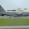 Date:  10/03/16 - Location:  KSRQ<br /> Dep/Arv/Enr:  n/a - RW/Taxi/Ramp:  n/a<br /> Manufacturer:  Boeing <br /> Model:  C-17A - Ser/BuNo:  08-8204<br /> Unit:  437 AW/315 AW<br /> Misc: