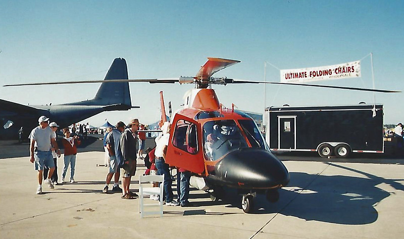 Date: 2004 - Location: KMCF<br /> Dep/Arv/Enr: n/a - RW/Taxi/Ramp: n/a<br /> Manufacturer: Agusta<br /> Model: MH-68A - Ser/BuNo: 1095<br /> Unit:  USCG HITRON-10<br /> Misc: n/a