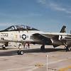 Date:  1992 - Location:  KNPA<br /> Dep/Arv/Enr:  n/a - RW/Taxi/Ramp:  n/a<br /> Manufacturer:  Grumman <br /> Model:  F-14A - Ser/BuNo:  160381<br /> Unit:  VF33<br /> Misc: