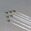 Date:  4/3/14 - Location:  KLAL<br /> Dep/Arv/Enr:  Enr - RW/Taxi/Ramp:  n/a<br /> Manufacturer:  McDonnell Douglas <br /> Model:  F/A-18C  - Ser/BuNo:  unknown<br /> Unit:  US Navy Flight Demonstration Team, Blue Angels<br /> Misc: