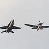 Date:  11/9/12 - Location:  KSUA<br /> Dep/Arv/Enr:  Enr - RW/Taxi/Ramp:  n/a<br /> Manufacturer:  McDonnell Douglas/Curtis Aircraft<br /> Model:  F/A-18C/SB2C5 - Ser/BuNo:  164243 - Reg/Nmb:  NX92879<br /> Unit:  VFA-106<br /> Misc: