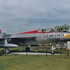 """Date: unknown - Location: Mobile, AL<br /> Manufacturer:  Republic<br /> Model: F-105B-1-RE<br /> Mil Reg:  54-0102 - Civ Reg: n/a <br /> Markings: US AIR FORCE/FH-102/40102<br /> Misc:  According to the National Museum of the USAF, this is the third pre-production """"B"""" model."""