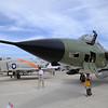 """Date: 3/11/16 - Location: Titusville, FL<br /> Manufacturer: Republic Aviation<br /> Model: F-105D <br /> Mil Reg: 60-0492 - Civ Reg: n/a - C/N:  D180<br /> Markings:  """"Ye Old War Horse""""/MD/60492<br /> Misc:  """"Ye Old War Horse"""""""