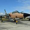 "Date: 11/16/17 - Location: Titusville, FL<br /> Manufacturer: Republic Aviation<br /> Model: F-105D - Name:  Thunderchief - Nose art:  ""Ye Old War Horse""<br /> Mil Reg: 60-0492 - Civ Reg: n/a - C/N:  D180<br /> Markings:  ""Ye Old War Horse""/MD/60492<br /> Misc:"