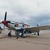 "Date:   unknown - Location:  KBAD<br /> Manufacturer:  North American Aviation<br /> Model:  P-51D - Name:  Mustang - Nose Art:  ""Ridge Runner""<br /> Mil Reg:  44-14570 - Civ Reg:  n/a - C/N:  109-28203<br /> Markings:  ""Ridge Runner""/WD*D<br /> Misc"