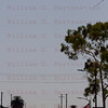 OV-105 Endeavour Crenshaw Blvd. in Inglewood, CA. with a Air France A380 landing at LAX Oct. 13, 2012