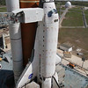 STS-134 Endeavour on Pad 39A after Rollout March 11, 2011