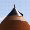 STS-134 Endeavour on Pad 39A Closeup of ET top March 11, 2011