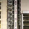Minotaur IV TacSat4 tower rollback Sept. 27, 2011