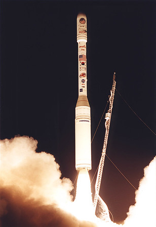 Taurus  with KomSat/AcrimSat  launches from Vandenberg AFB. 12-20-1999