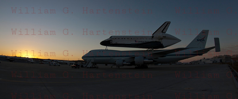 NASA905/Endeavour at Dryden, Edwards AFB Sept.20,2012
