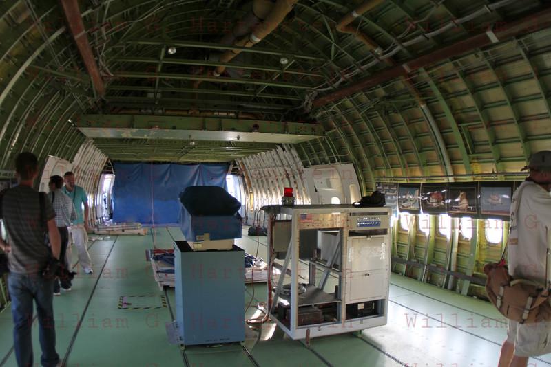 Inside NASA905/Endeavour at Dryden, Edwards AFB Sept.20,2012