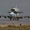 NASA905/Endeavour lands on rwy 22, Edwards AFB Sept.20,2012