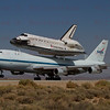 NASA905/Endeavour touches down at  Edwards AFB  12:51pm Sept.20,2012