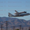 NASA905/Endeavour does a flyby over Palmdale Airport Palmdale, CA Sept. 21, 2011