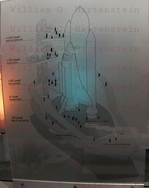 Design for final Enedavour display in 2017. At  Endeavour's Grand Opening at California Science Center, Oct. 30, 2012