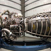 SSME on display at Endeavour's Grand Opening at California Science Center, Oct. 30, 2012